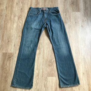 Men's Levi's low boot cut 527, size 31x21, EUC!